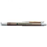 Ручка с логотипом. Фирменная символика нанесена методом тампографии